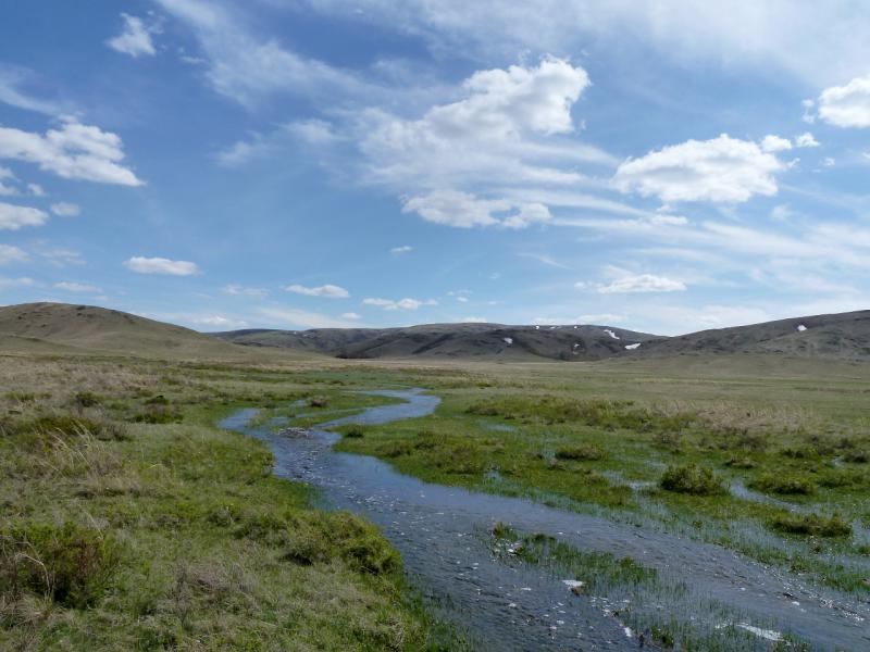 20130426. В долине солёных озёр Шалкарсоль и Бозшаколь.