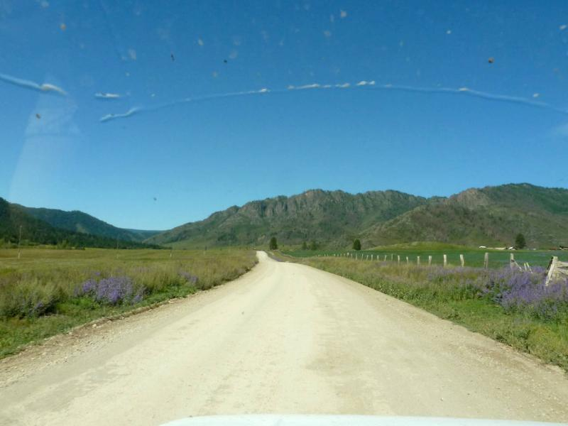 20180815. На автодороге Р-373, от Ело к Ябоганскому перевалу.