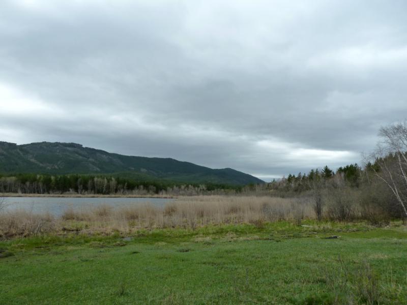 20130429. Озеро в центральной части горного массива Каркаралинского заповедника.