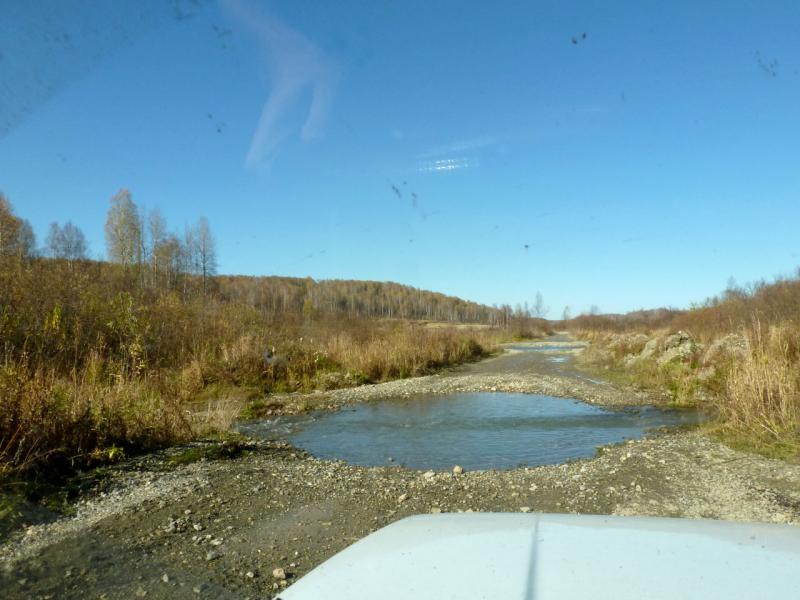 20181006. Первые метры трассы джип-трофи, вдоль речки Кинтереп.