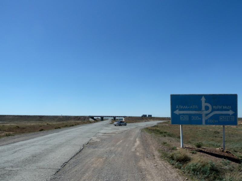 20130509. На трассе М-36 у поворота на Приозёрск.