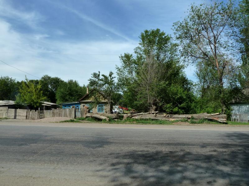 20130512. В селе Благовещенка (Чуйская долина).