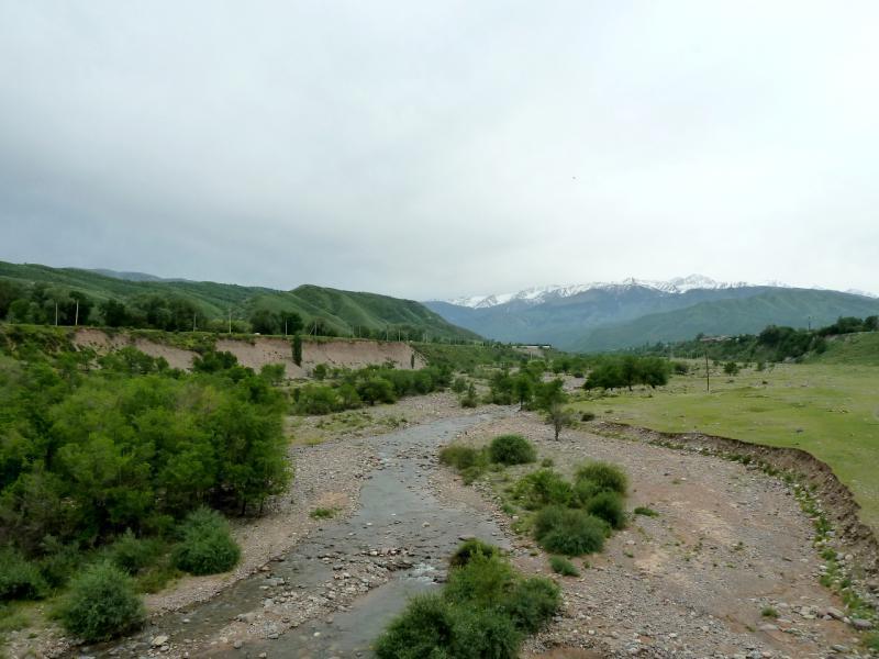 20130519. Вид на речку Тургень с автомобильного моста, в районе посёлка Тургень.