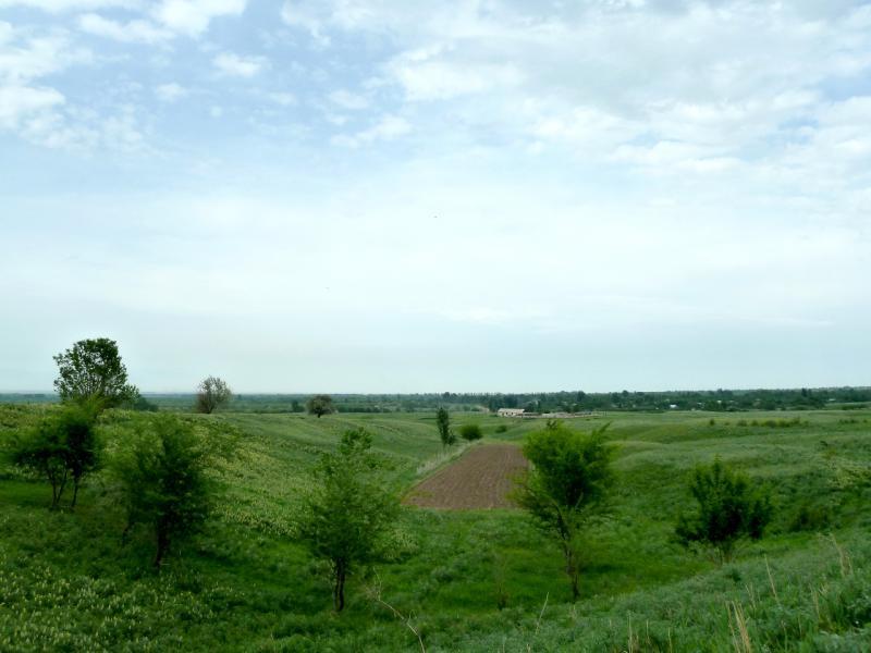 20130519. Вид на местность к северу от БАК.