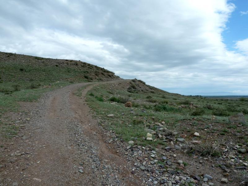 20130520. Подъём из долины речки Асы (приток реки Чилик).