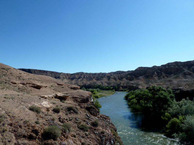 20130522. Вид на реку Чарын в районе урочища Куртогай.