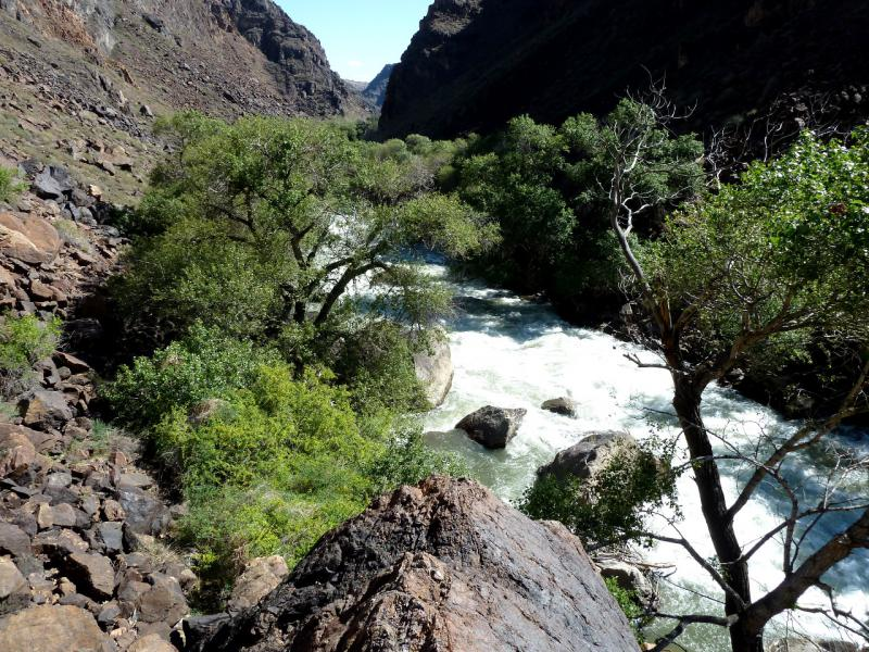 20130522. В ущелье реки Чарын.