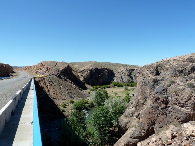 20130522. Вид с моста через реку Чарын в урочище Куртогай.