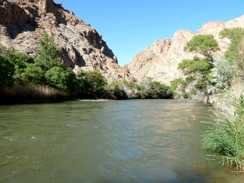 20130522. Река Чарын в районе каньона Бартогай.