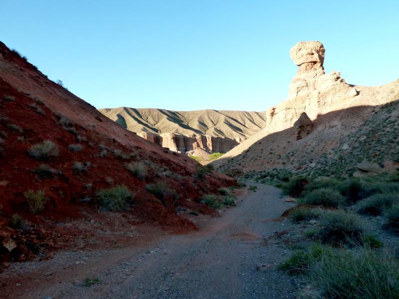 20130522. Спуск в каньон реки Тамирлик.