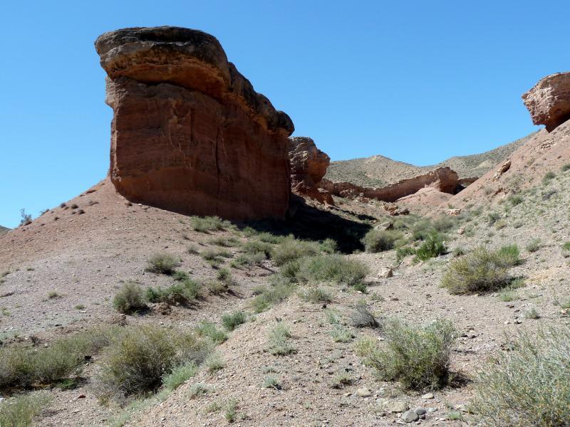 20130523. В каньоне речки Темирлик.