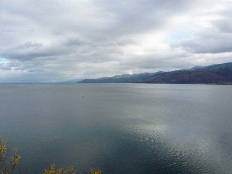 20191009. Вид на озеро Байкал с мыса Шаманка.
