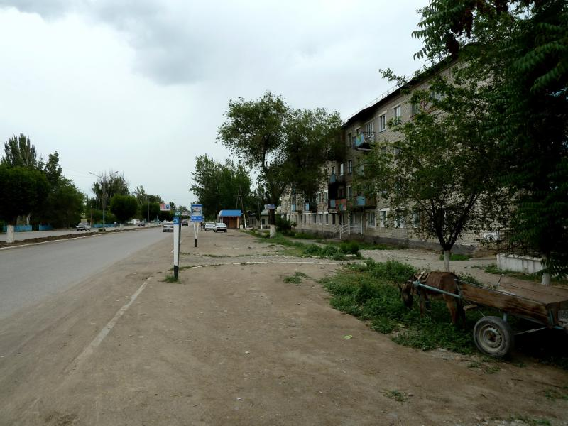 20130524. В городке Жаркент.