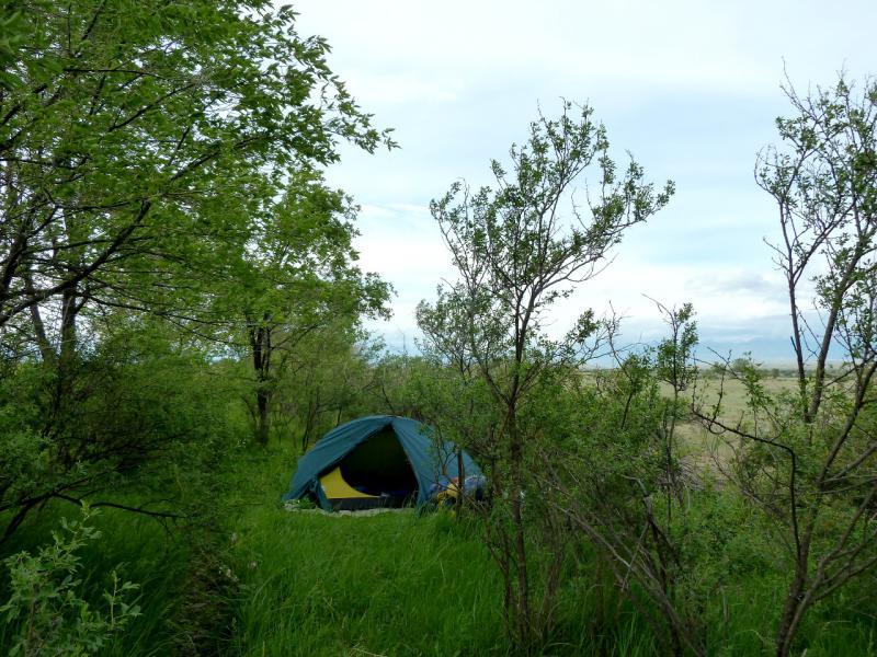 20130524. Вид на место стоянки, в десяти километрах от Жаркента.