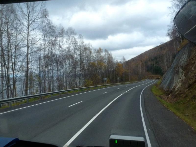 20191009. На трассе Р-258 вдоль Станового хребта, прямо над озером Байкал.