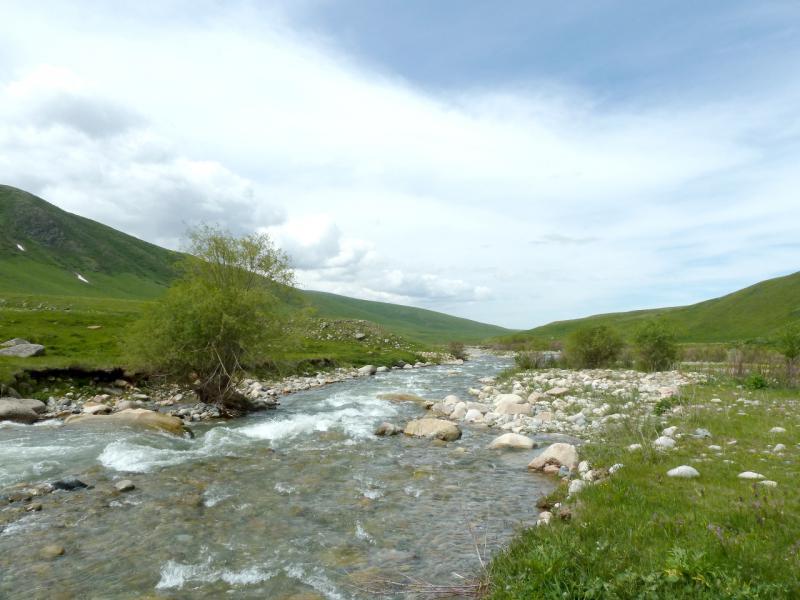 20130527. Порожистое место на реке Кескентерек.