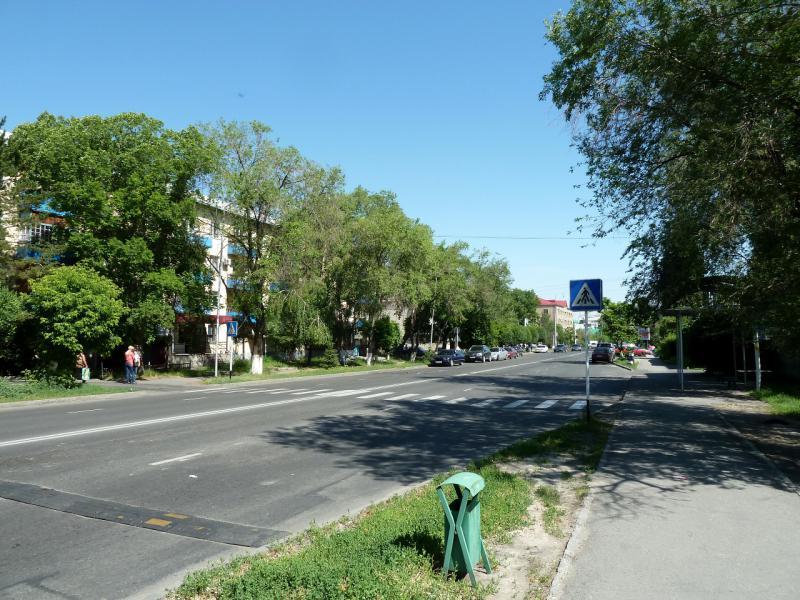 20130529. На одной из центральных улиц Талдыкоргана.
