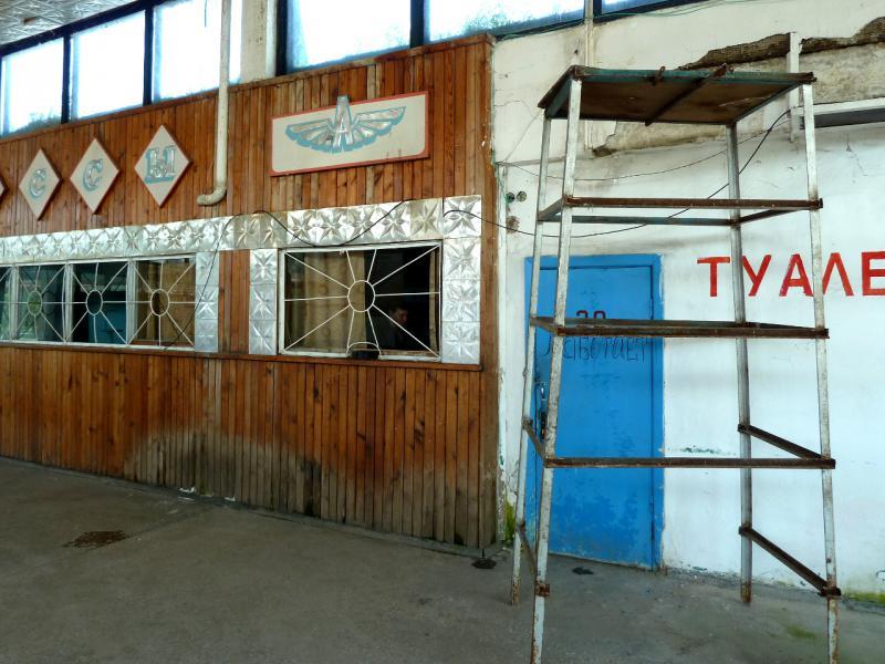 20130531. У касс на автовокзале Георгиевки.