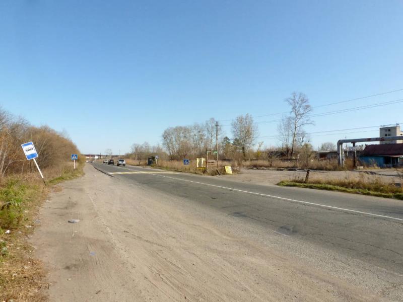 """20191014. На южной окраине Хабаровска, в начале трассы А-370 """"Уссури""""."""