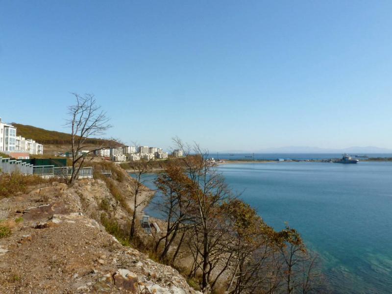 20191015. Владивосток. Вид с мыса Жданко на акваторию бухты Патрокл.