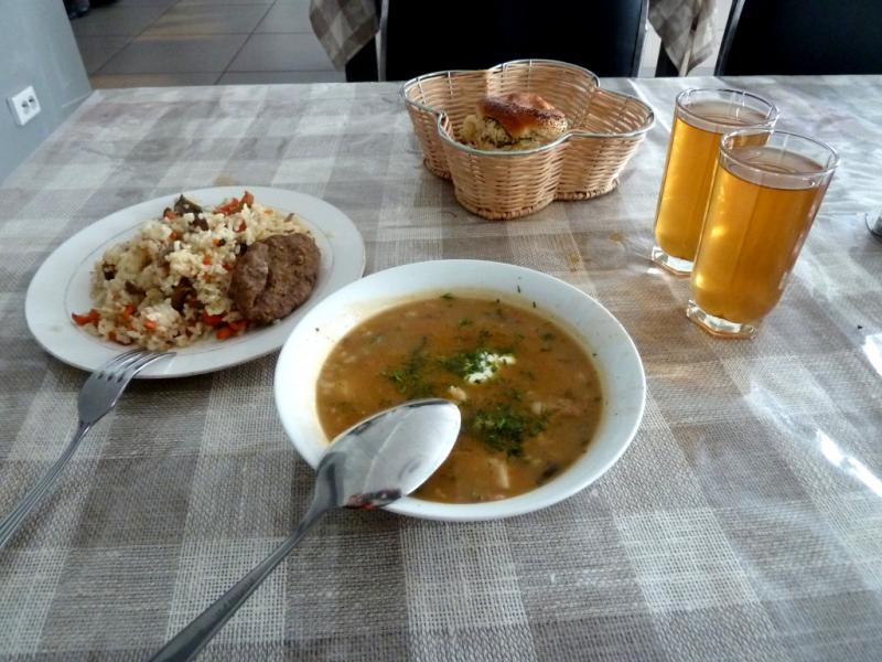 """20130604. Скудный обед """"по средне-широтному""""."""