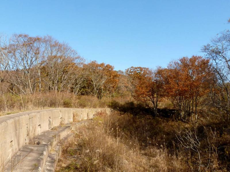 20191017. Владивосток. С внутренней стороны бруствера форта.