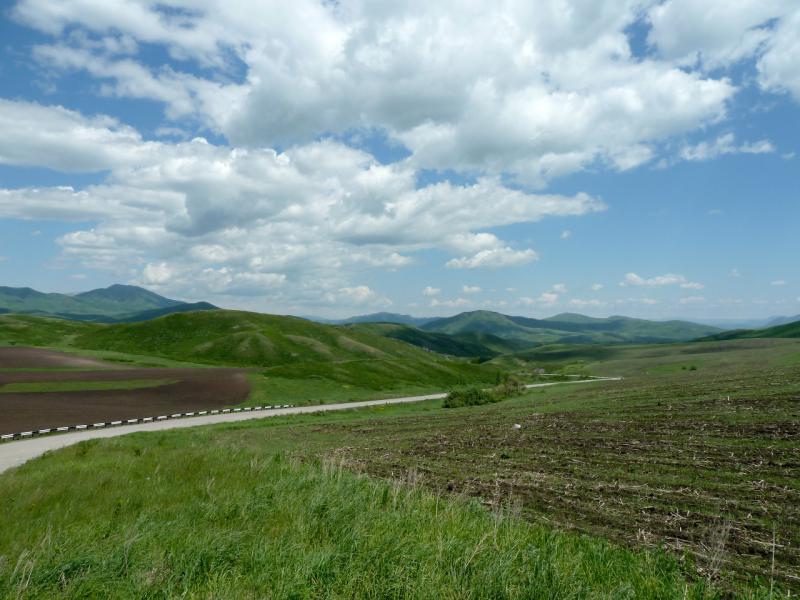 20130606. В долинах и сопках у Бухтарминского водохранилища.