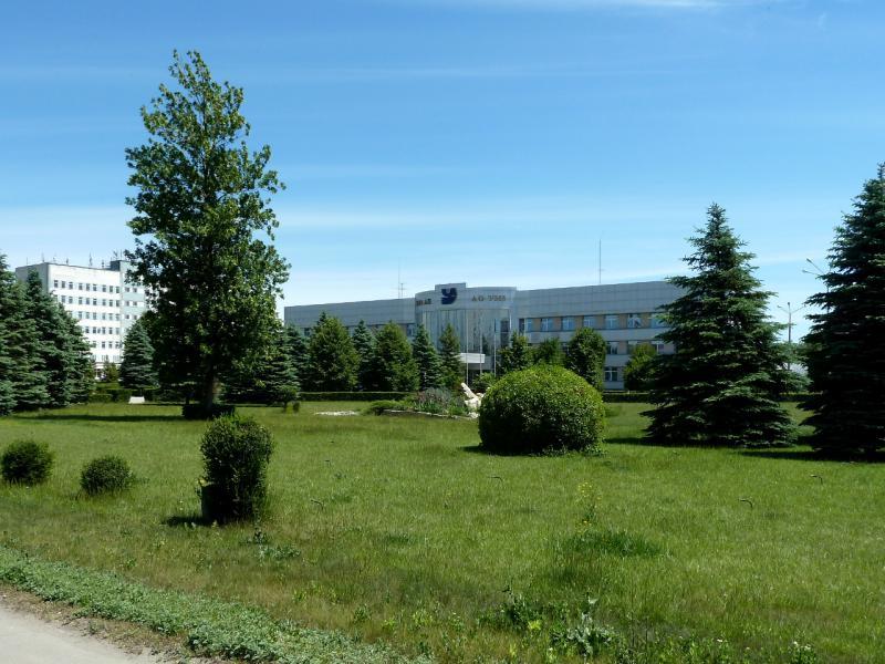 20130608. Вид на управление одного из множества производств Усть-Каменогорска.