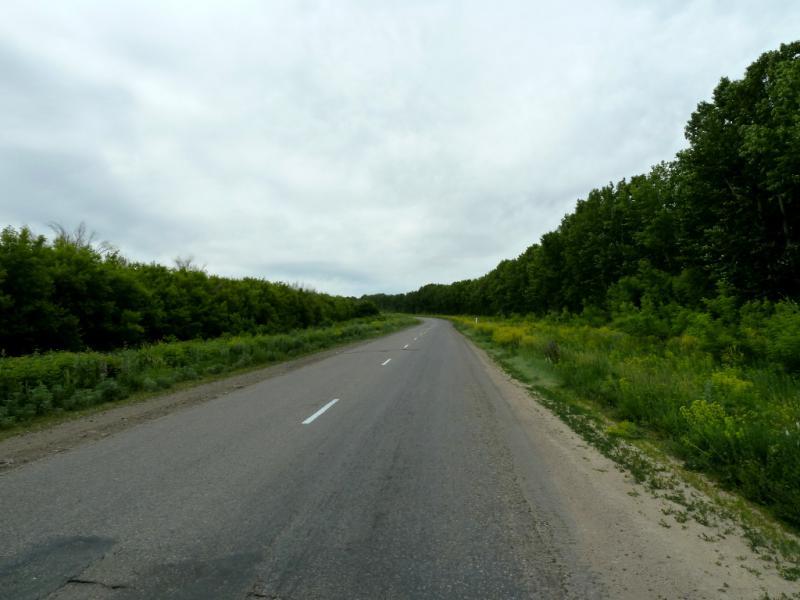 20130609. Дорога P-151 в районе села Предгорное.