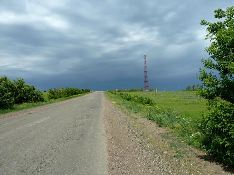20130610. Дорога P-147 на участке Шемонаиха - Новая Шульба.