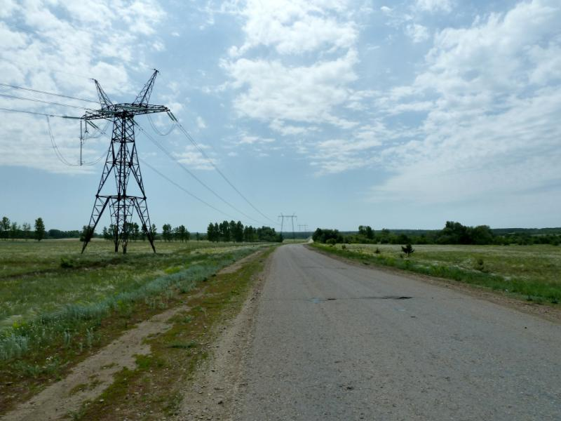 20130610. Дорога от села Новая Шульба к Шульбинской ГЭС.
