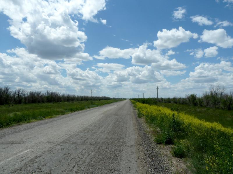 20130611. Дорога Шульбинск - Семипалатинск.