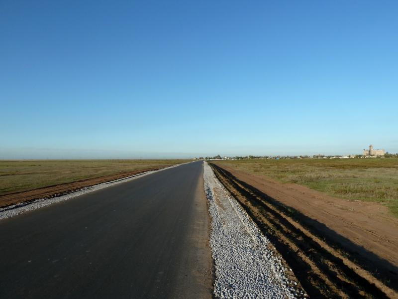 20130907. Объездная дорога посёлка Ленинский.