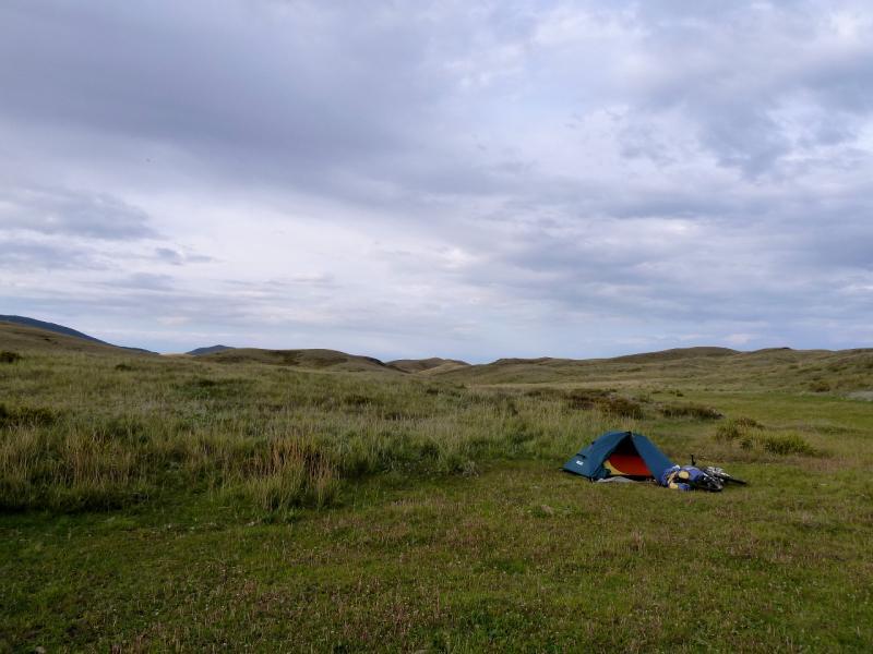 20130909. Вид на место стоянки неподалеку от Торайгыра.