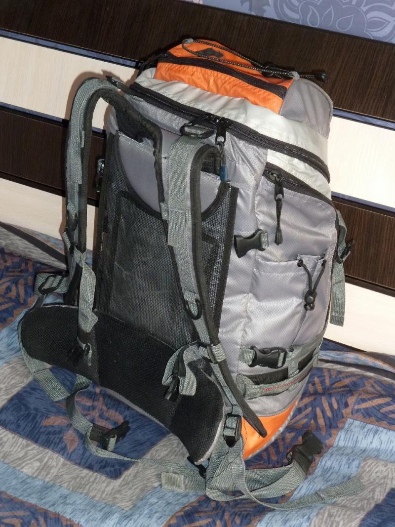 "Рюкзак ""Nordway Voyager 35"": вид спереди слева."
