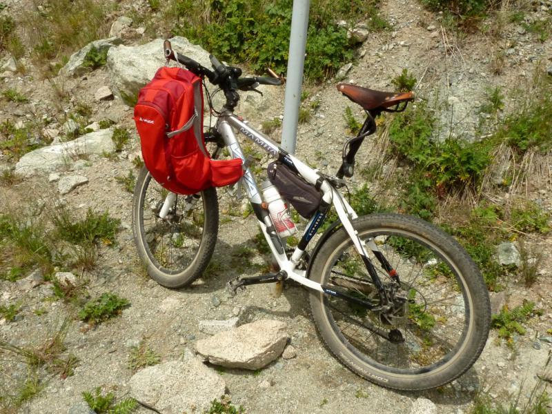 20140715. Мой велосипед, крепкий китайчонок.