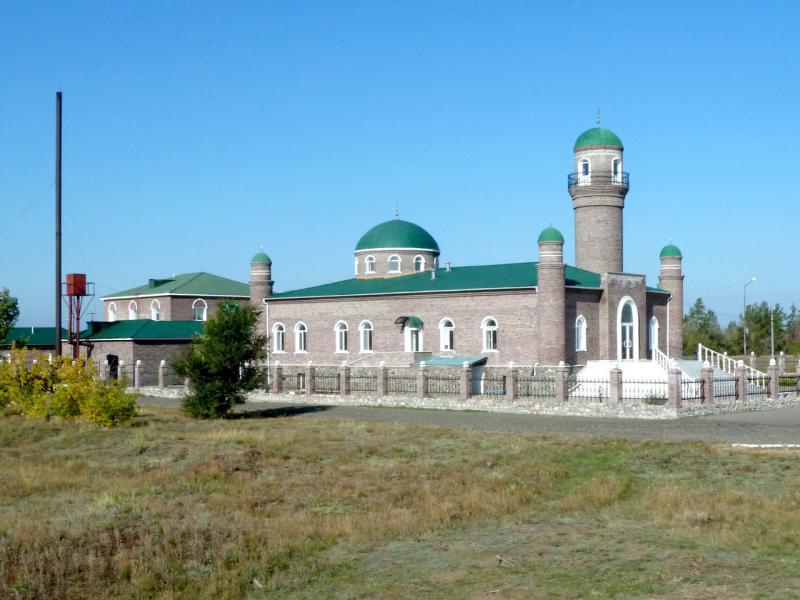 20140922. Новая мечеть села Павлодарское.