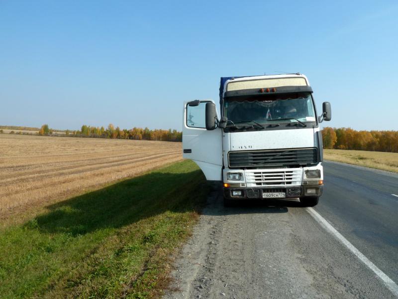 "20140925. ""Volvo"", пассажиром которого я доехал до Екатеринбурга."
