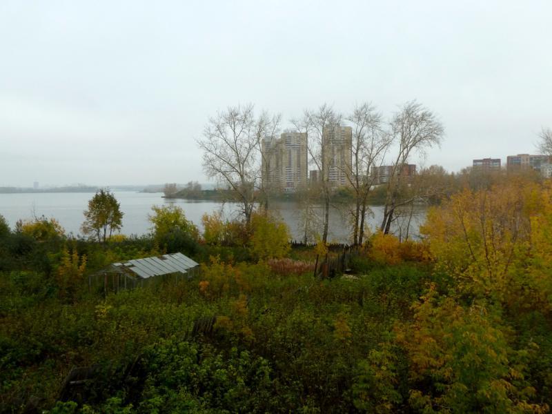 20140926. Вид на Нижне-Исетский пруд в Екатеринбурге.