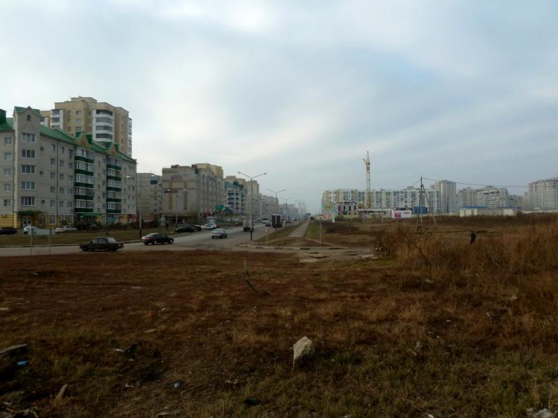 20141105. Тамбов. Вид на улицу Чичерина, пока ещё крайнюю в многоэтажном городе.
