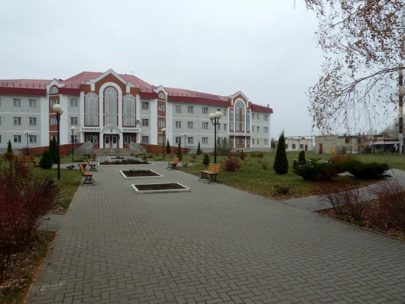 20141105. Тамбов. Городская психиатрическая больница на западной окраине.