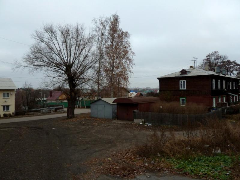 20141111. Тамбов. На улице Железнодорожная, в районе вагонного депо.