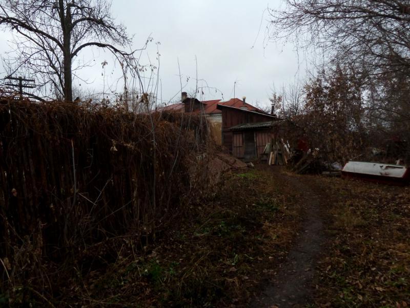 20141111. Тамбов. Тропы в районе Астраханской улицы.