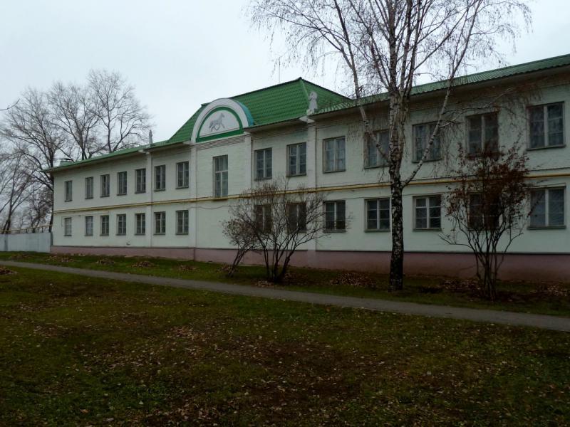 20141112. Тамбов. Здание ипподрома на улице Ипподромной.