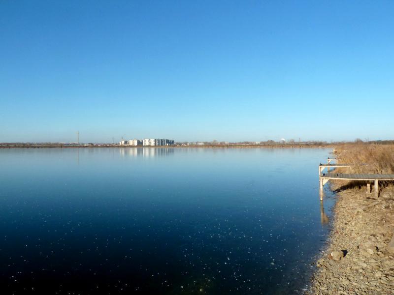 20141119. Тамбов. У Бокинских прудов, вид на окраину города Тамбов.