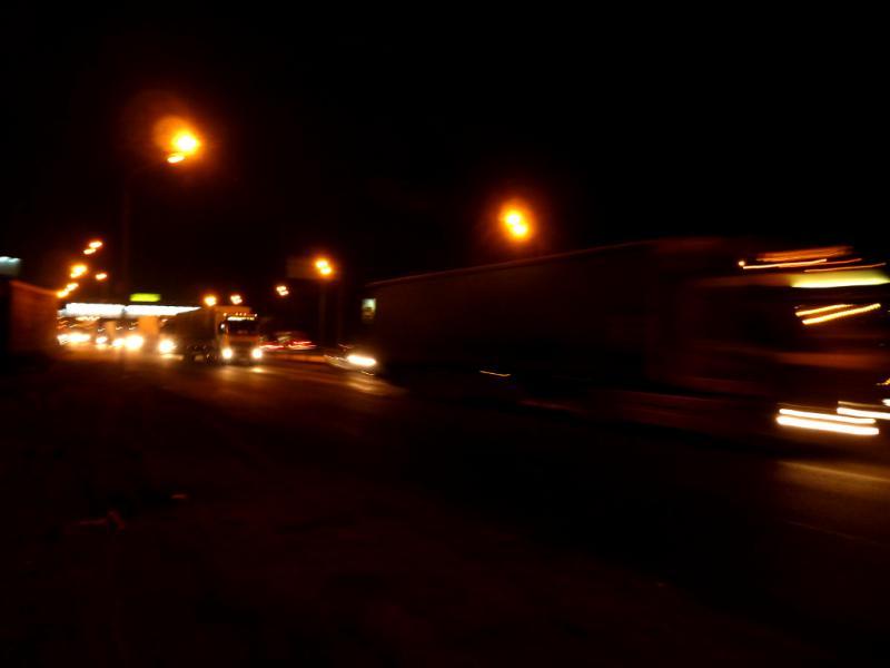 20141206. Питер - Тамбов. На трассе M-10, после открытия МКАД.