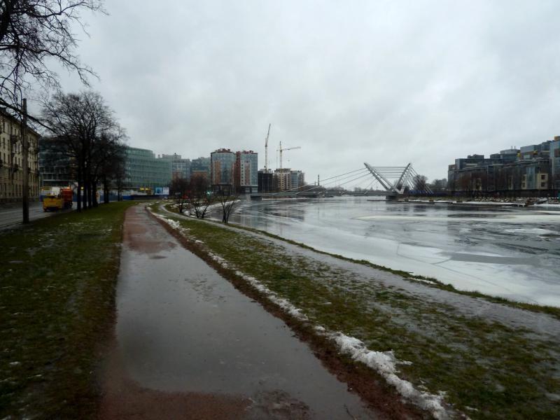 20150102. На Песчаной набережной реки Малая Невка.