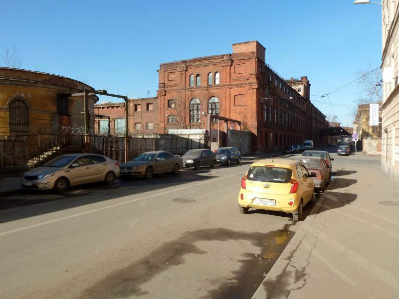 20150314. Улица Кожевенная линия, на задворках Балтийского судостроительного завода.