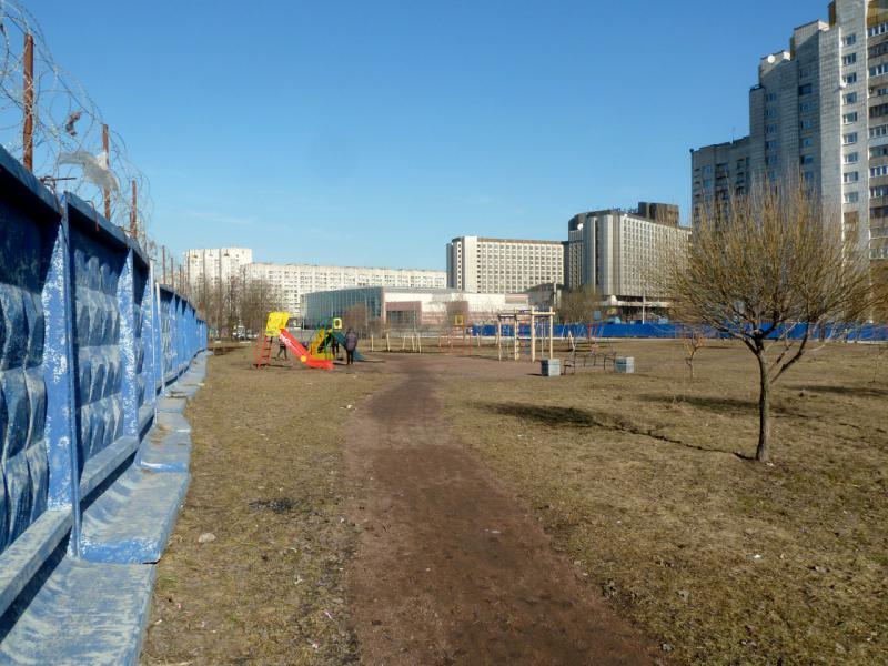 20150314. В районе новостроек у площади Прибалтийская.