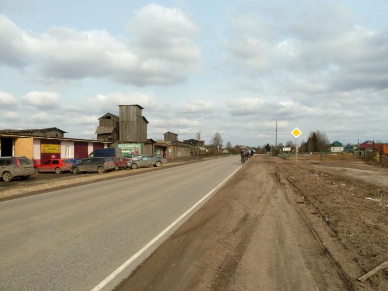 20150405. Где-то на автодороге к посёлку Коммунар (Ленинградская область).